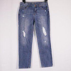 3/$25 Jennifer Lopez Distressed Boyfriend Jeans 2